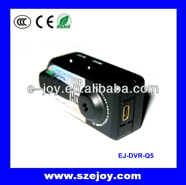 2013 NEW and portable EJ-DVR-Q5 Multifunction HD 720P Driver mini dv