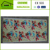 Waterproof PVC Wall Covering Decorative Art Deco Wall Panels Hot Stamping PVC Wall Panel