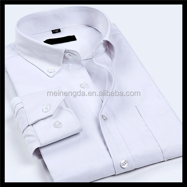 Latest collection excellent brand white mens silk shirt