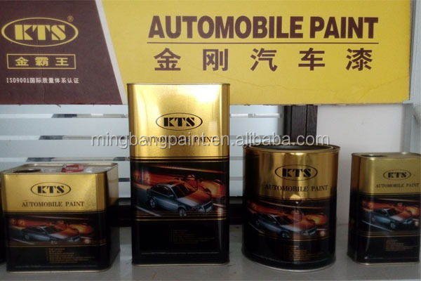 Spray application 1k 2k auto xylene paint for car refinish