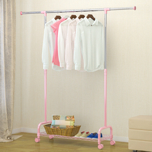 XM_129A extendable stainless steel clothes drying rack garment rack with wheels