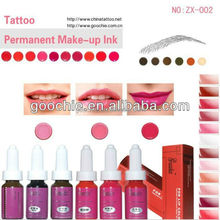 High Quality Permanent Makeup&Tattoo Ink for lip with FDA certification