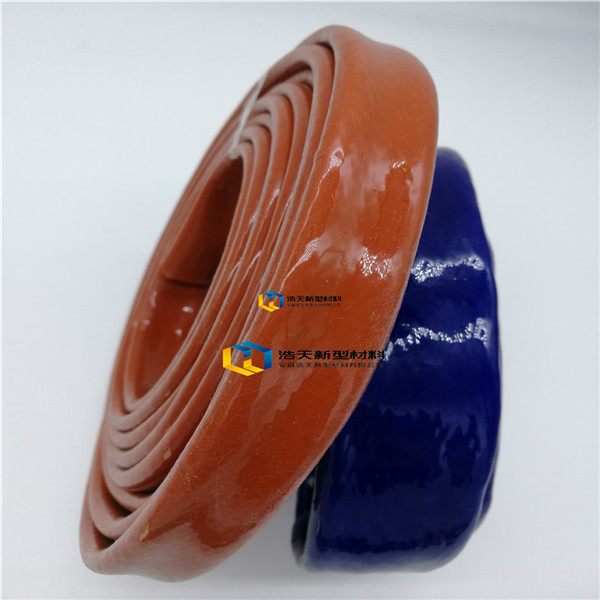 Hot selling industry silicone coated fiberglass fire sleeve quantity assured