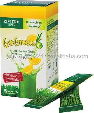 GoGreen - Young Barley Grass with Lemon