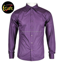 Us Market Executive Solid Purple Color Mens Tuxedo Shirts