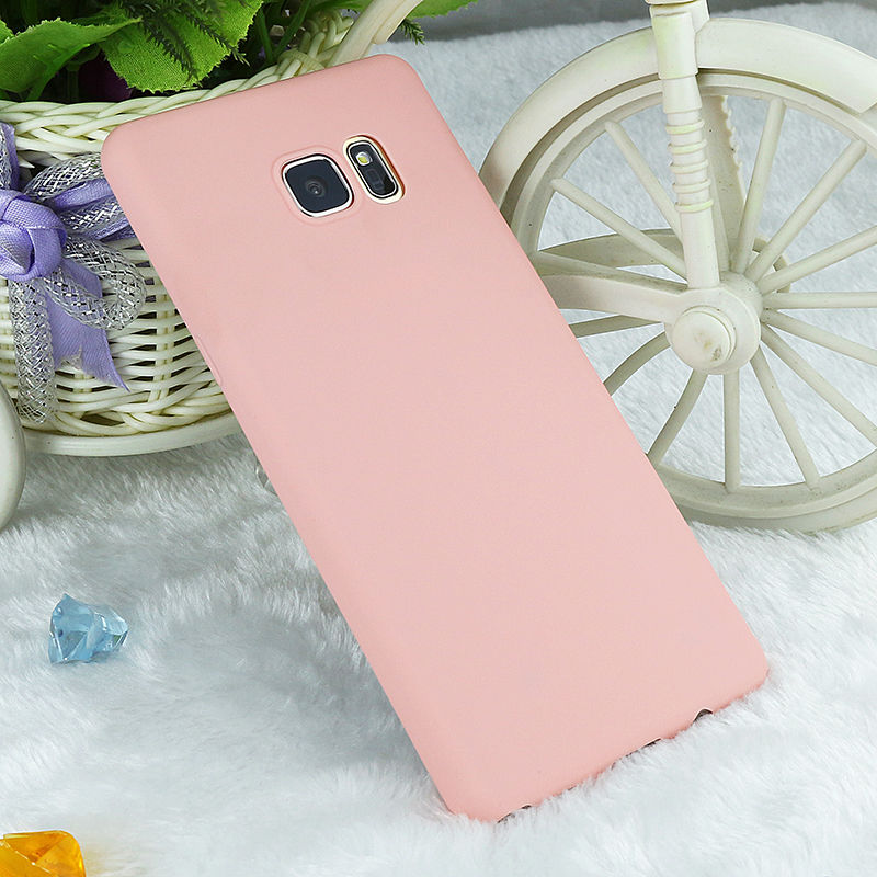Factory Wholesale Soft Candy TPU Silicone Rubber Gel Case Protective Back Cover Skin for Samsung galaxy Note4