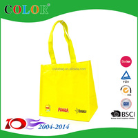 6 bottle wine promotional pp non woven folding shopping carrier bag
