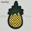 Fashion Ananas Design Iron On Embroidery Patch for Clothing WEF-785