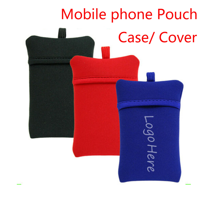 Custom Neoprene Mobile Phone Case/ Cover/Pouch