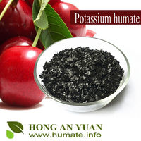 potassium humate in organic fertilizer,potassium humate in potash,Potassium humate powder