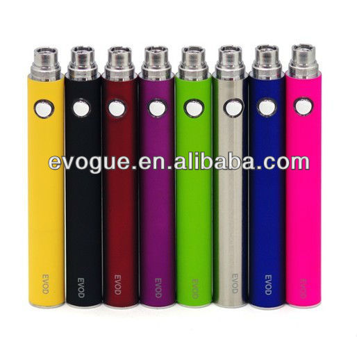 Portable original evod battery with small button