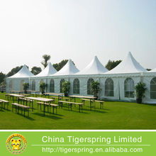 Outdoor event 2040 pvc pagoda party tent