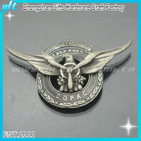 2014 Hot sell metal safety officer badges, safety officer lapel pin badge, safety officer emblem