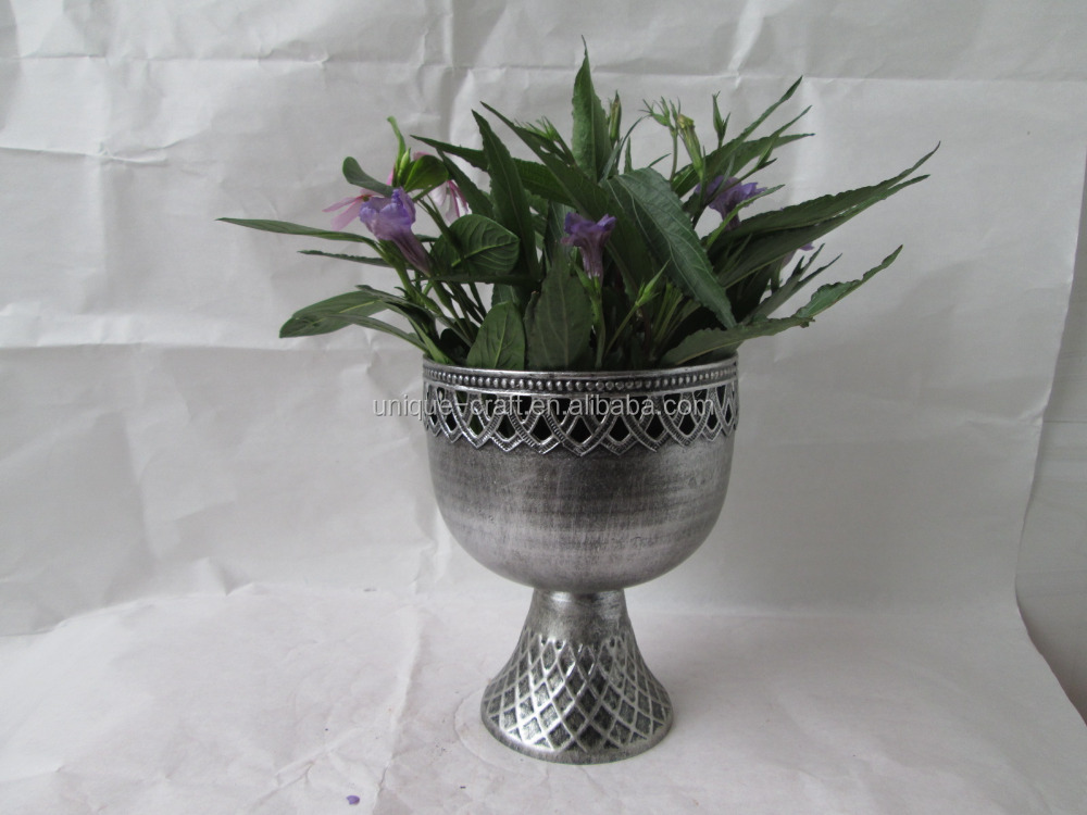 Antique Spring indoor decorative flower urn garden pot wholesale