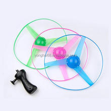 Diameter 25CM Flash Flying Saucer Luminous Flying Ssaucer Cable Flying Saucer