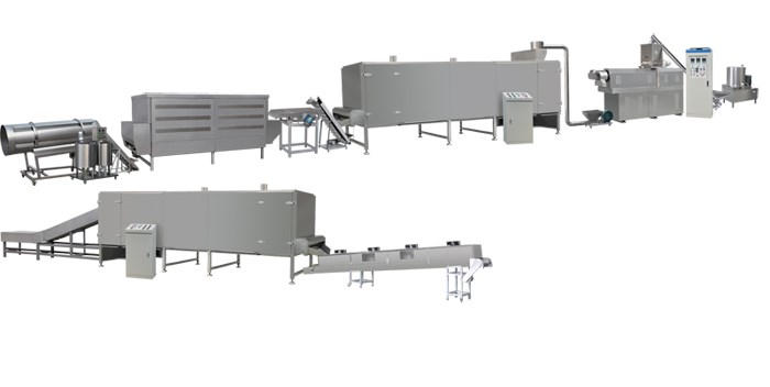 ISO9001 certificate breakfast cereal making machine