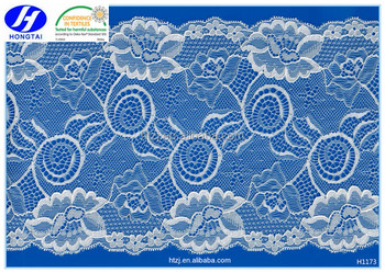 new style lace neck trim Cotton Embroidery Lace Fabric
