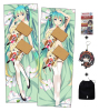 New Miku Hatsune Anime Dakimakura Japanese Hugging Body Pillow Cover ADP64008