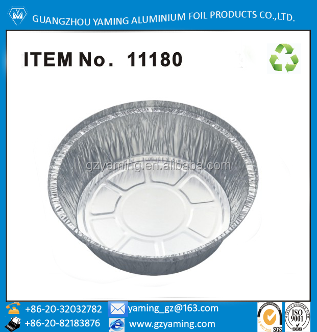 aluminum foil round deep baking tray ITEM NO 11180