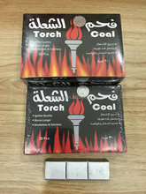60pcs/box Long Burning Torch Coal