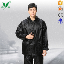 Polyester pvc raincoat and rain suitsuit cost effective comfortable rain suit raincoat rain coat fashion for women