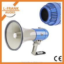 25W build-in microphone Whistle handy megaphone with CE