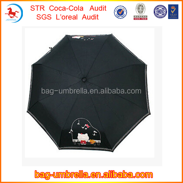 New Inventions 21inchx8k Three Fold Auto Open Auto Close Cantilever Umbrella Parts