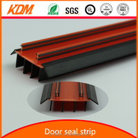 Santoprene soft and hard wooden door rubber seal for sound insulation