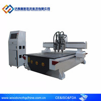 GS Auto Tools Changer CNC Router For Furniture Making