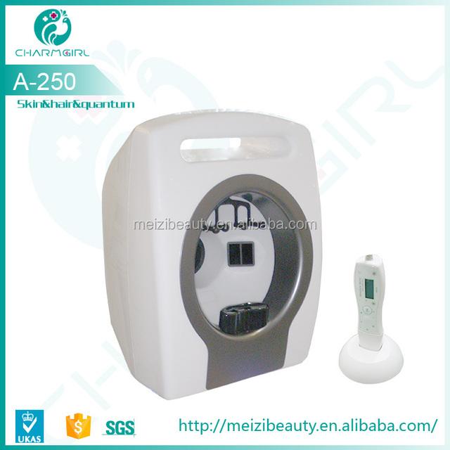 newest skin scope analyzer with English version software for sale/portable skin analyzer