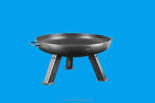Best Portable rusty garden large steel firepit outdoor fire pits
