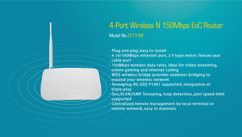 Professional eoc router with high quality