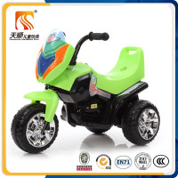 Chinese motorcycle manufacturer kids three wheel motorbike with backrest