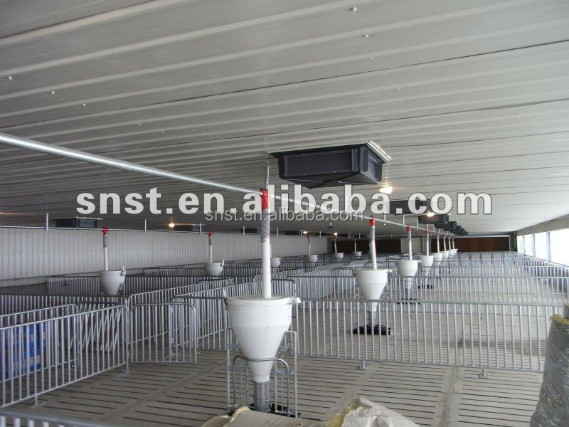 Commercial Growing pig farm pen