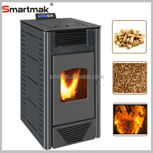 Domestic automatic feeding portable wood pellet stove, wood pellet boiler stove,wood pellet burning stoves