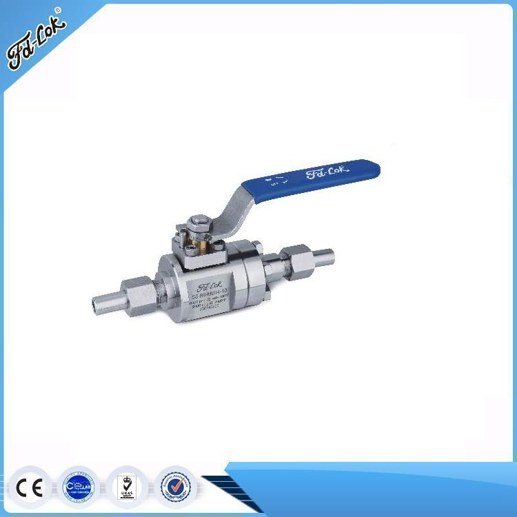 Stainless Steel Hydraulic Metal Seated Ball Valve