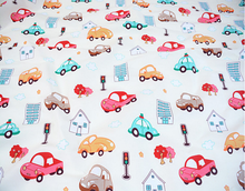 custom printed cotton twill fabric to make baby bedding