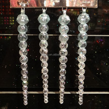 Promotional Artificial icicle/ christmas vertical ice decoration