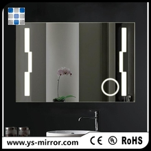 2017 modern big mirror with lights around it