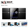 2.0CH Micro HiFi System UX-68 Portable DVD Player with USB SD AUX FM Radio Bluetooth