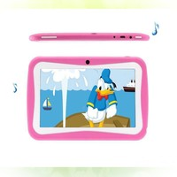 7 inch Quad Core Children Kids Tablet PC 8GB RK3126 Android 5.1 MID Dual Cam & Educational Games App Birthday Gift