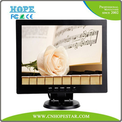 Factory Best Selling 10 inch TFT LCD CCTV Monitor with VGA, HDMI, AV, BNC Input