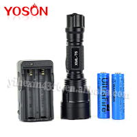 2015 new produt C8 super highlight torch flashlight 1600lumen