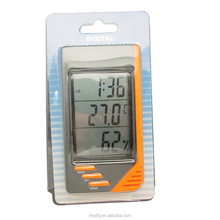 Clock calendar thermometer digital household hygrometer thermometer digital(S-WS07)