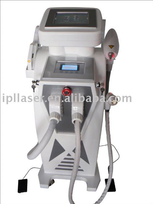 ipl hair removal multifunction elight/ipl/rf/laser beauty salon equipment with CE approval