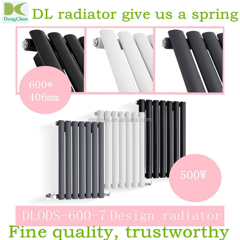 Vertical Central Heating Oval -tube Designer Radiators Tall Upright Columns , home heating radiators for sale