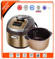 Intelligent Control LED Display 5L Automatic Keep Warm Pressure Cooker