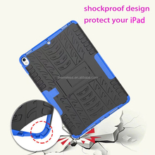 shockproof case for ipad pro 10.5 tyre lines design cover for ipad pro 10.5 inch square stand