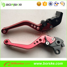 CNC folding and adjustable motorcycle brake clutch levers for R3 motorcycles.
