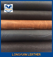 free sample available top quality china pu leather for garment woven back faux leather for clothing